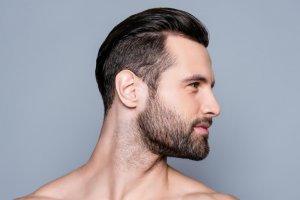 Marcación de mandíbula Hombre