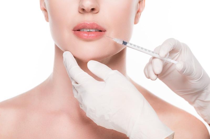 Relleno de labios tratamientos faciales